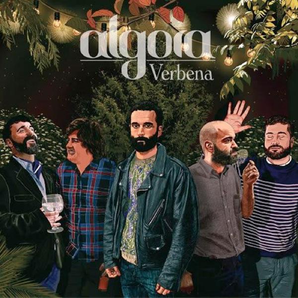 Aquí tienes la portada de Verbena, el nuevo disco de Algora