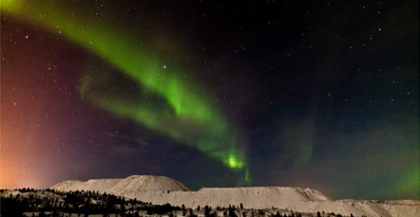 La aurora boreal vista por el fotógrafo Terje Sorgjerd