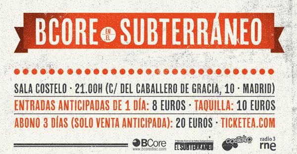 BCore se traslada a Madrid este fin de semana