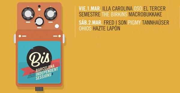 BIS Festival, Barcelona Independent Sessions