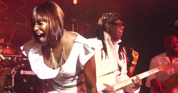 Nile Rodgers y Chic (Red Bull Music Academy), Teatro Kapital, Madrid (13-11-2011)