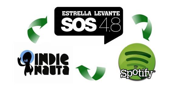 Indienauta vs SOS 4.8 vs Spotify