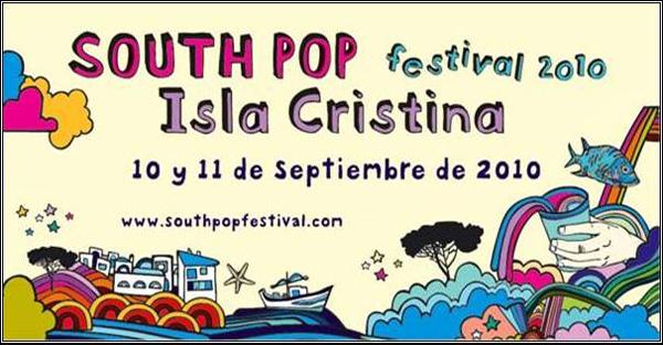 South Pop Isla Cristina 2010, primeros confirmados
