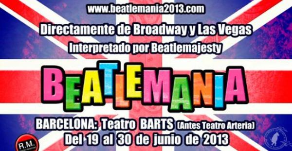 Estreno: Beatlemania, en la sala Barts.