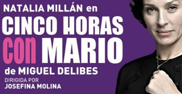 Crítica: Cinco horas con Mario, en el teatro Goya.