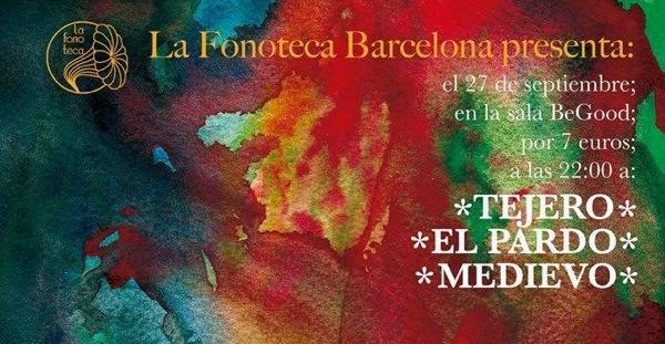 La Fonoteca Bcn regresa tras las vacaciones con Tejero, El Pardo y Medievo