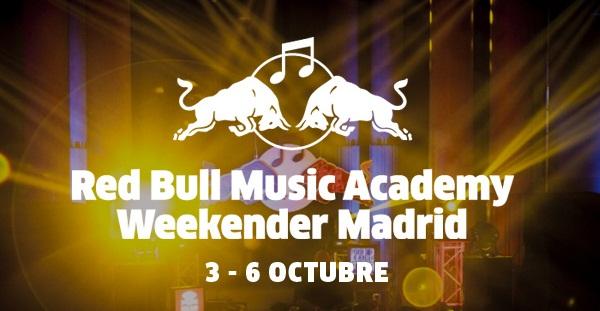 RBMA Weekender, o como hacer fluir música durante 3 días por toda una ciudad. Del 3 al 6 de octubre en Madrid