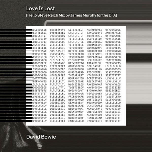 Las palmas de David Bowie y James Murphy