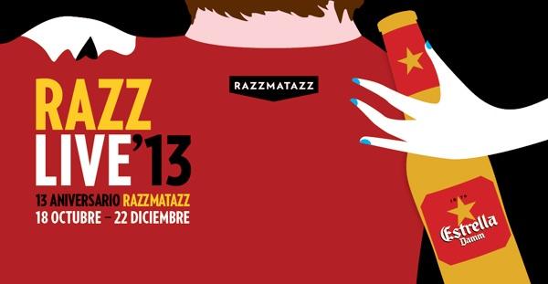 13 Aniversario de la Sala Razzmatazz