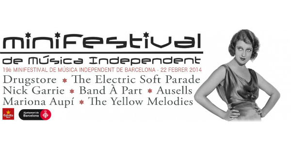 Minifestival de Música Independent de Barcelona 2014