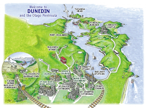 DunedinMap