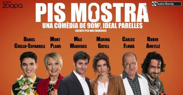 Estreno: Pis mostra, en el Teatre Borràs.