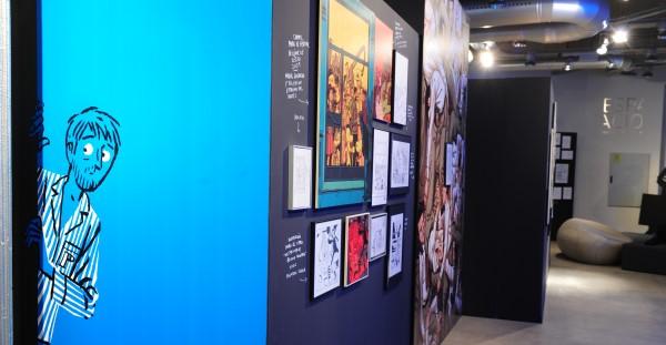 Paco Roca. Dibujante Ambulante, Espacio Fundación Telefónica, (20/11/14 al 15/02/15)