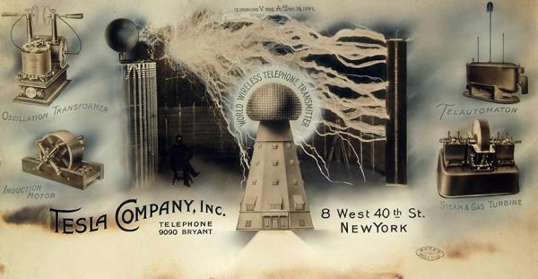 """Hoy se inaugura la exposición """"Nikola Tesla. Suyo es el futuro"""" en el Espacio Fundación Telefónica"""