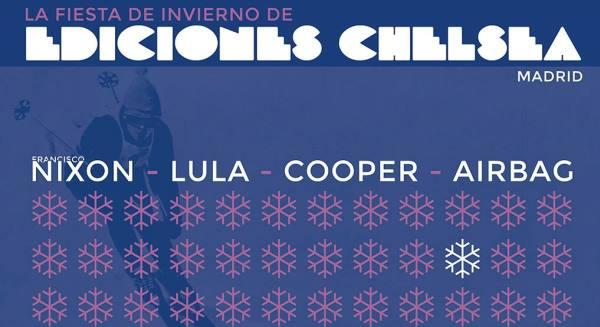 Fiesta de invierno de ediciones Chelsea: música y libros el 19-12-2014