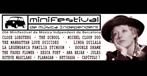 XX Minifestival de Música Independent de Barcelona