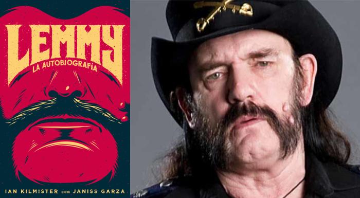 Lemmy: la autobiografía, Ian Fraser Kilmister y Janiss Garza (Es Pop, 2015)