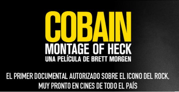 """""""Cobain: Montage of Heck"""" se estrenará en los cines españoles"""