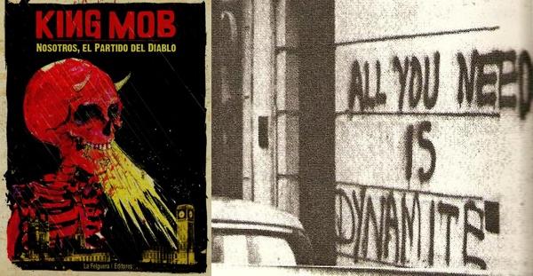King Mob. Nosotros, el partido del Diablo, VV.AA. (La Felguera, 2015)