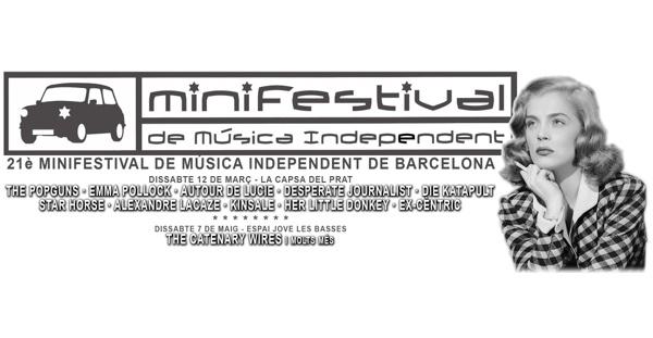 XXI Minifestival de Música Independent de Barcelona