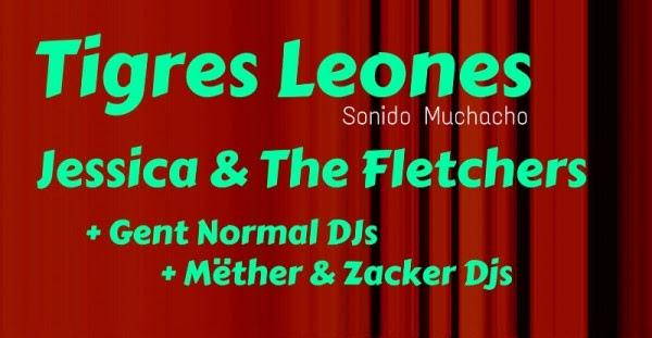 Tigres Leones y Jessica & The Fletchers en la próxima fiesta Bis a la 2