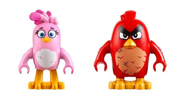 Consigue un set LEGO de Angry Birds