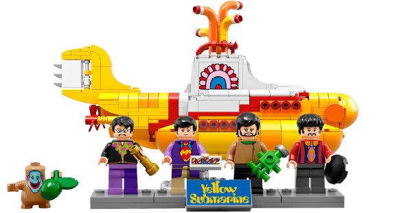 Consigue un set Lego del Yellow Submarine de los Beatles