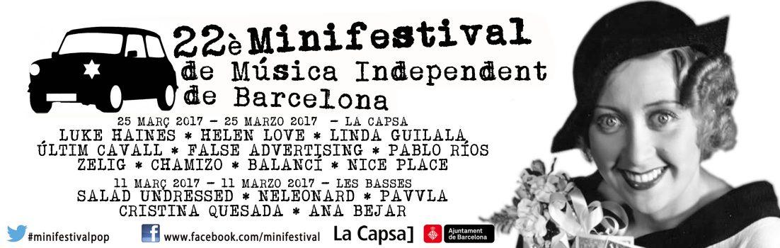Ya está aquí el XXII Minifestival de Música Independent de Barcelona (I)