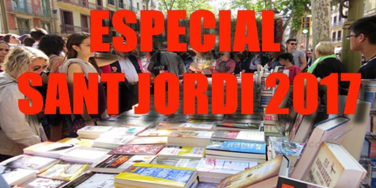 Sant Jordi 2017: recomendaciones para todos los gustos