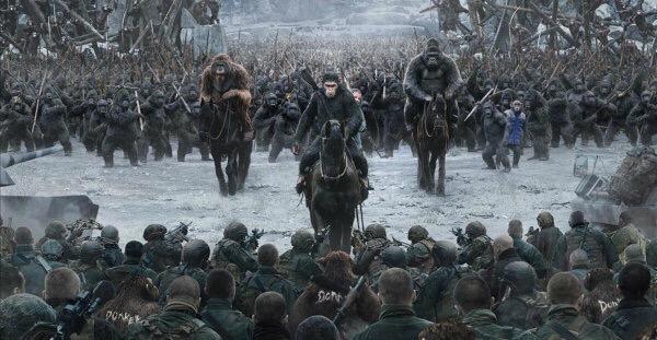 La Guerra del Planeta Simios: el gran combate