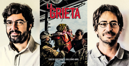 La grieta, Carlos Spottorno & Guillermo Abril (Astiberri, 2017)