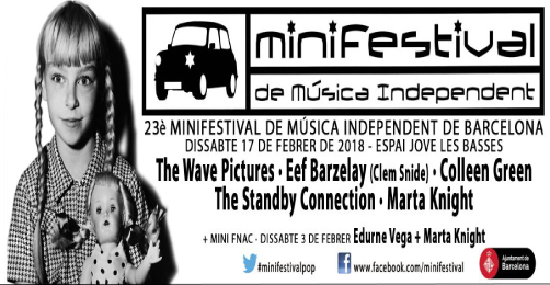 Se acerca el XXIII Minifestival de Música Independent de Barcelona