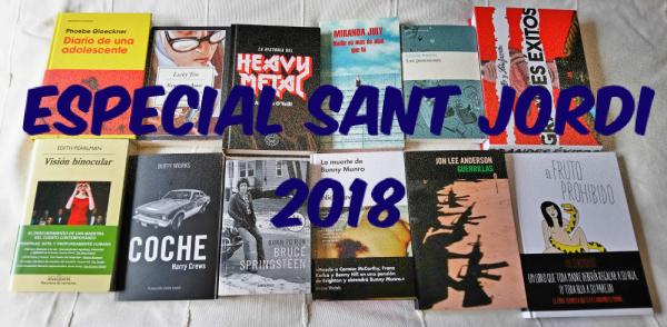 Sant Jordi 2018: recomendaciones para todos los gustos