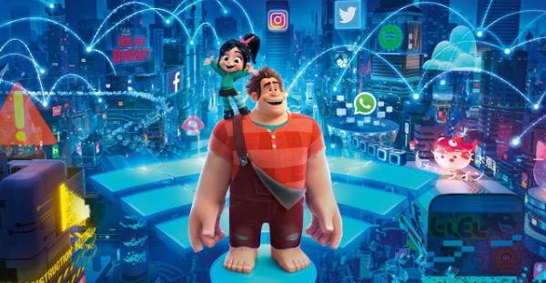 Ralph rompe internet: relaciones tóxicas