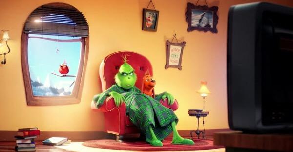 El Grinch: nostalgia de Tim Burton
