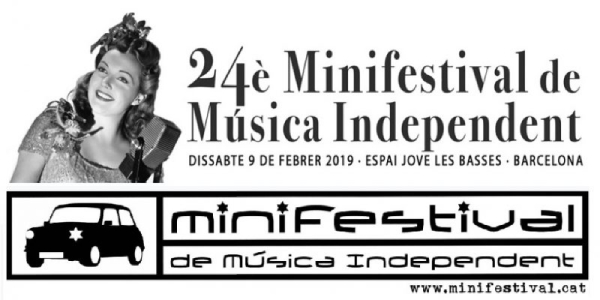 ¡El 24è Minifestival de Música Independent de Barcelona ya está aquí!