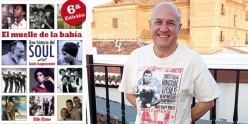 Luis Lapuente, autor de El muelle de la bahía