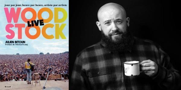 Woodstock live, Julien Bitoun (Libros Cúpula, 2019)