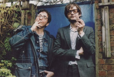Richard Hawley & Jarvis Cocker. Foto: Retts Wood