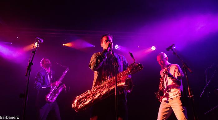 The Souljazz Orchestra, Sala La Nau, Barcelona (6/10/2019)