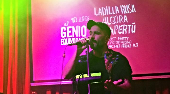10º aniversario de El Genio Equivocado, sala El Sol, Madrid (10-01-2020)