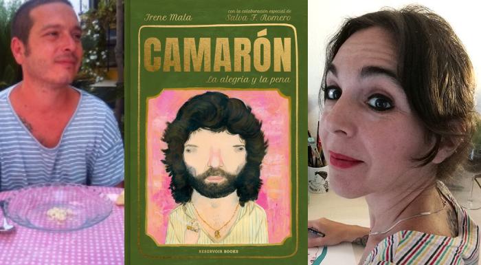 Camarón. La alegría y la pena, Irene Mala y Salva F. Romero (Reservoir Books, 2020)