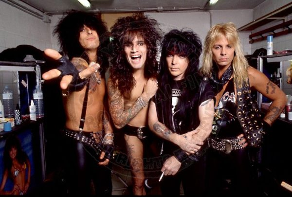 Mötley Crüe, gira Dr Feelgood