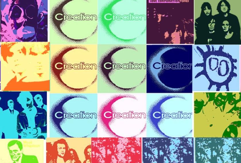 10 discos de Creation Records