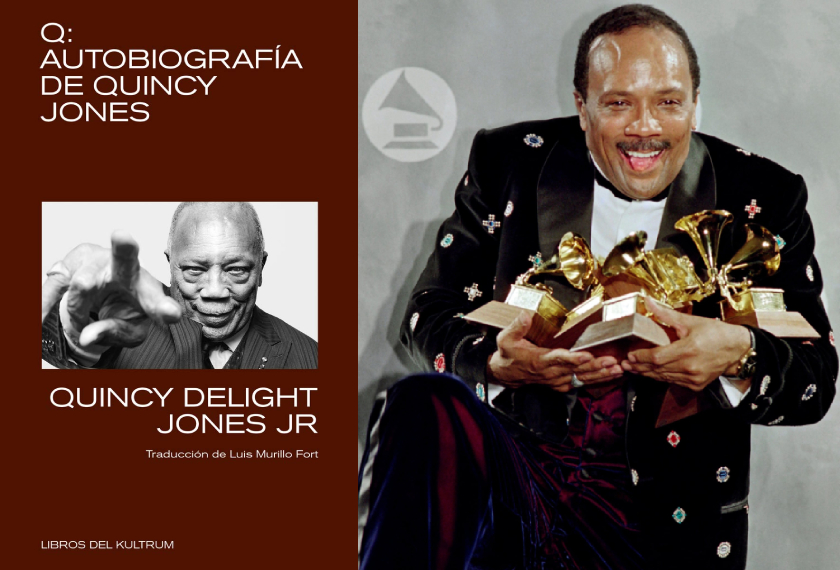 Q. Autobiografía de Quincy Jones, Quincy Delight Jones Jr. (Libros del Kultrum, 2021)